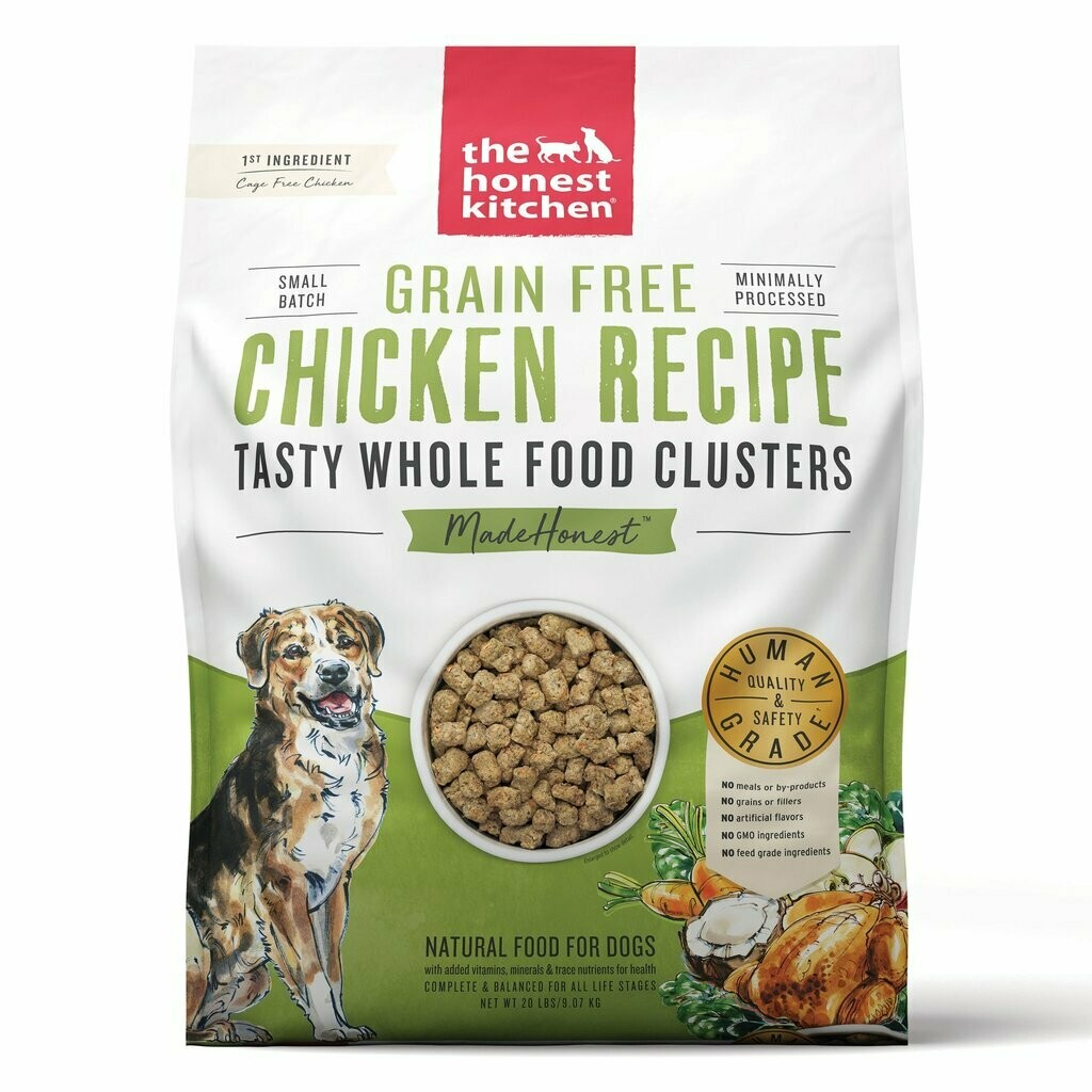 Honest Kitchen Whole Clusters Chicken 20lb