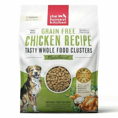 Honest Kitchen Whole Clusters Chicken 20lb