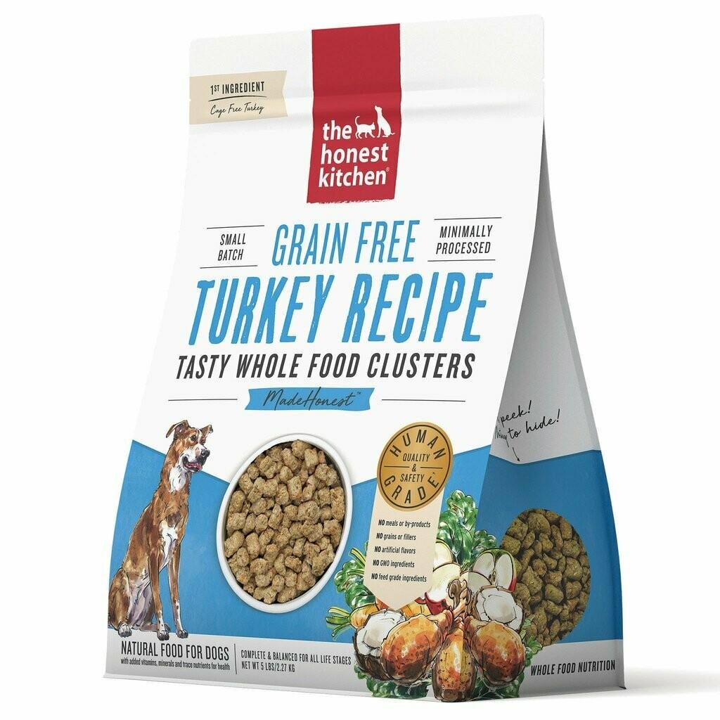 Honest Kitchen Whole Clusters Turkey 5lb