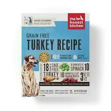 Honest Kitchen Grain-Free Turkey 4lb
