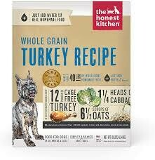 Honest Kitchen Whole Grain Turkey 10lb
