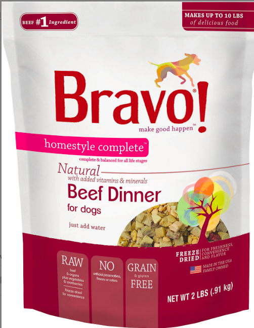 Bravo Freeze Dried Beef - 2lbs