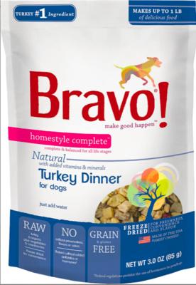 Bravo Freeze Dried Turkey - 3oz
