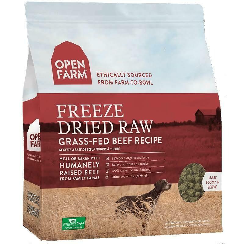 Open Farm Freeze Dried Beef 13.5oz