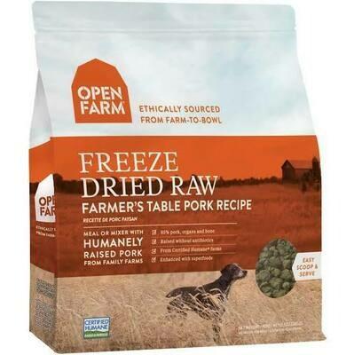 Open Farm Freeze Dried Pork 13.5oz