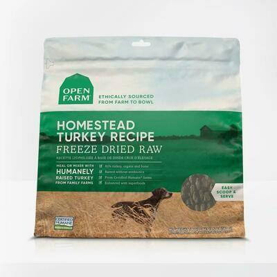 Open Farm Freeze Dried Turkey 13.5oz