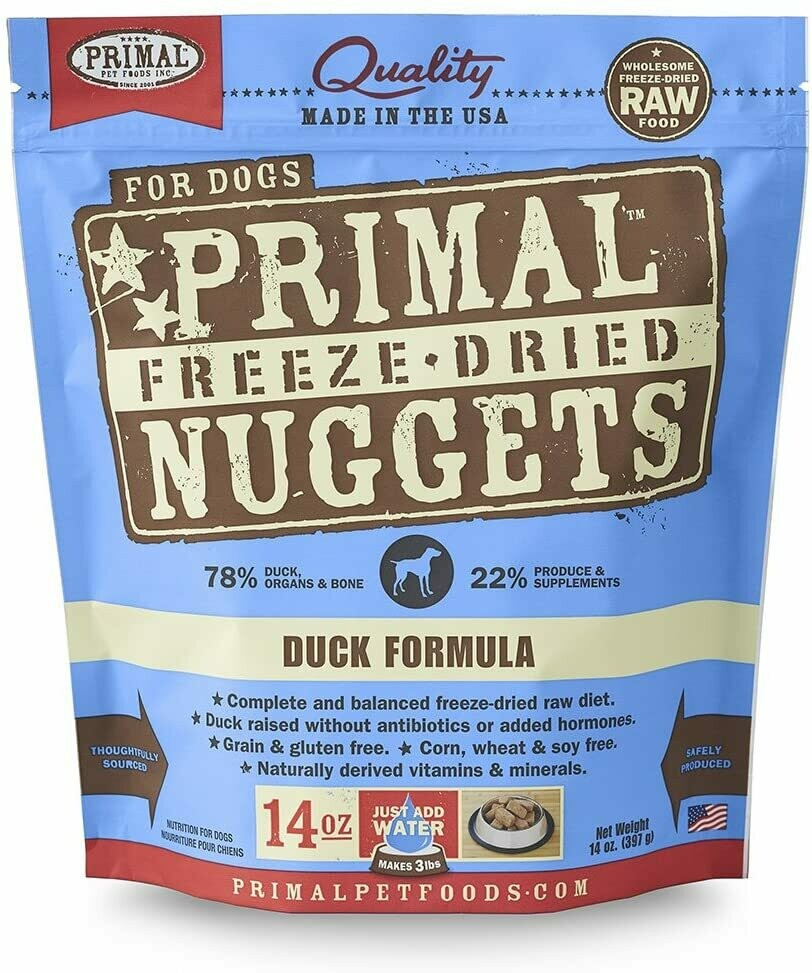 Primal Freeze Dried Duck Formula 14oz