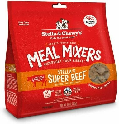 Stella & Chewy's Freeze Dried Beef Mixer 18oz