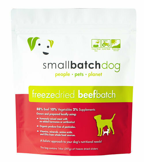 Small Batch Freeze Dried Beef 14oz