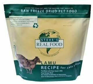 Steve's Freeze Dried Lamu 1.25lb
