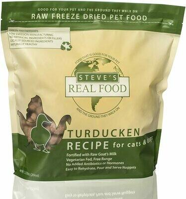 Steve's Freeze Dried Turducken 1.25lb