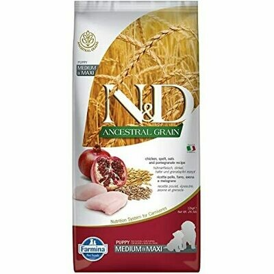 Farmina Puppy N&D Ancestral Grain Chicken Maxi 26.4lb