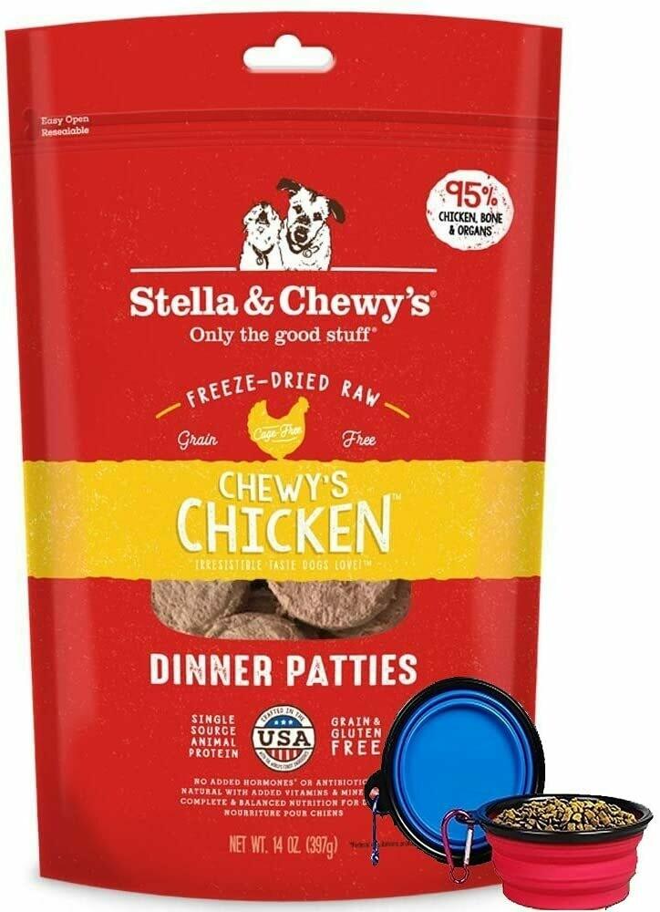 Stella & Chewy's Freeze Dried Chicken Dinner 14oz