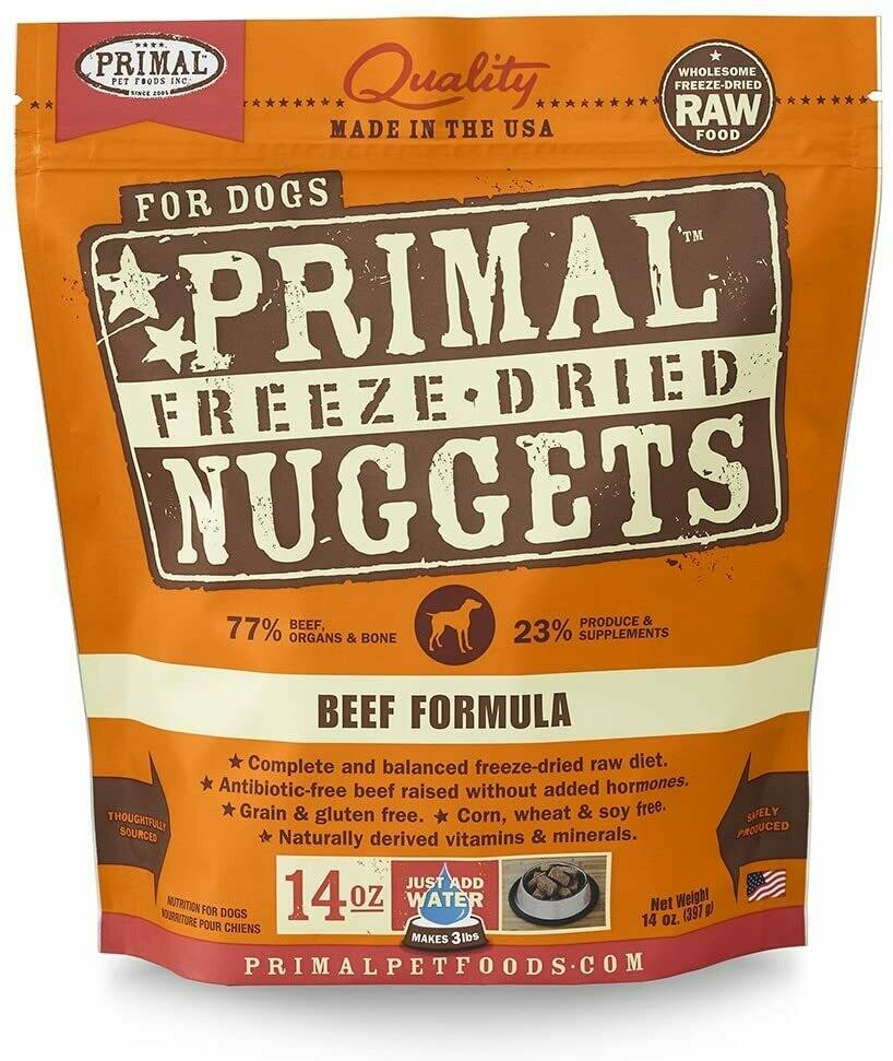 Primal Freeze Dried Beef Formula 14oz