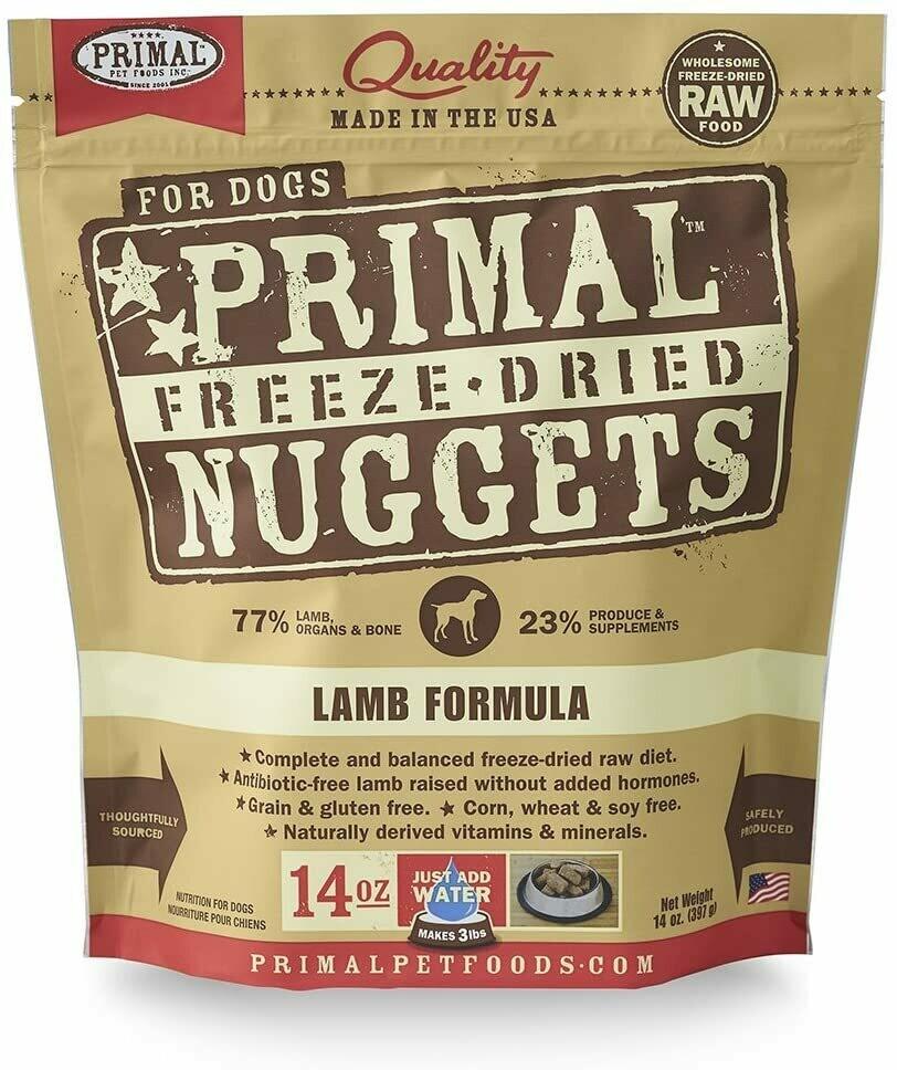 Primal Freeze Dried Lamb Formula 14oz