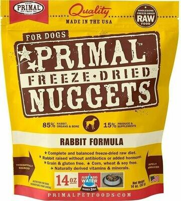 Primal Freeze Dried Rabbit 14oz