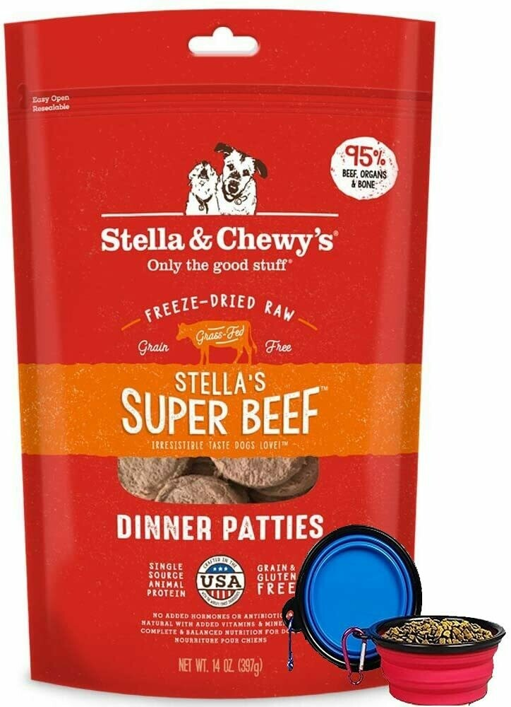 Stella & Chewy's Freeze Dried Beef Dinner 14oz