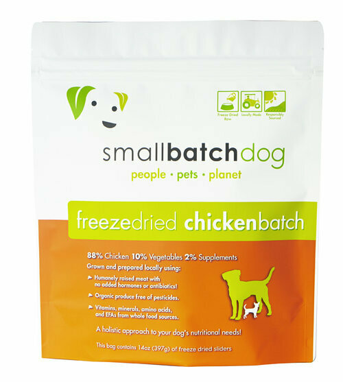 Small Batch Freeze Dried Chicken 14oz
