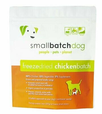 Small Batch Freeze Dried Chicken 14oz
