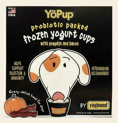 Yoghund Pumpkin & Bacon Yogurt 4-pack