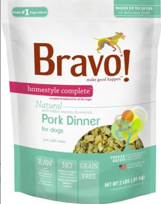 Bravo Freeze Dried Pork - 2lb