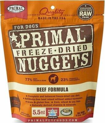 Primal Freeze Dried Beef 5oz