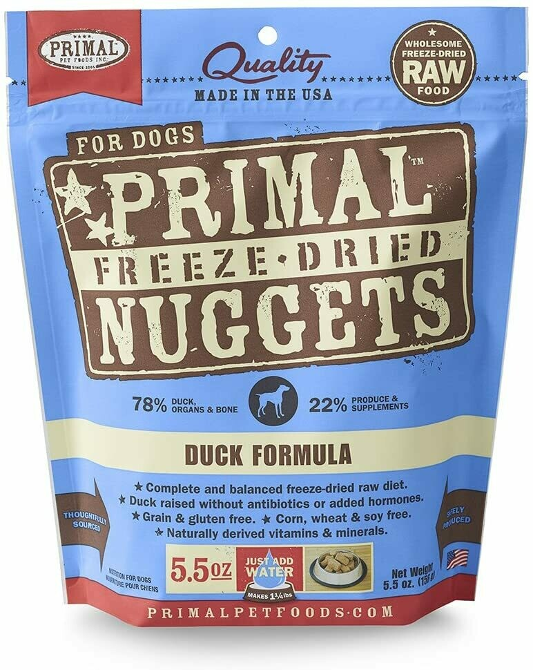 Primal Freeze Dried Duck 5oz