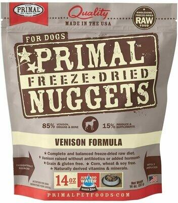 Primal Freeze Dried Venison 14oz