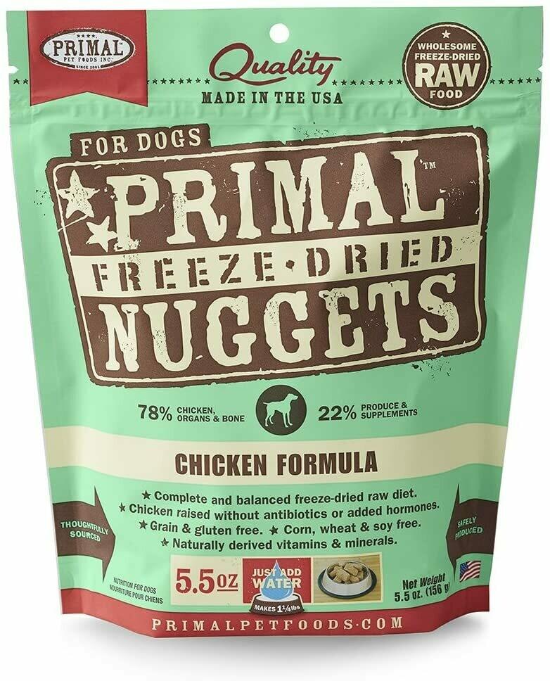 Primal Freeze Dried Chicken 5oz