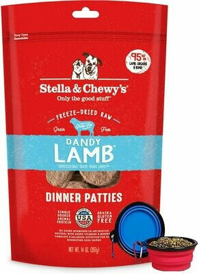 Stella & Chewy's Freeze Dried Lamb Dinner 14oz