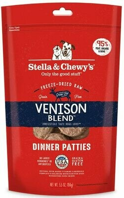 Stella & Chewy's Freeze Dried Venison Dinner 5.5oz