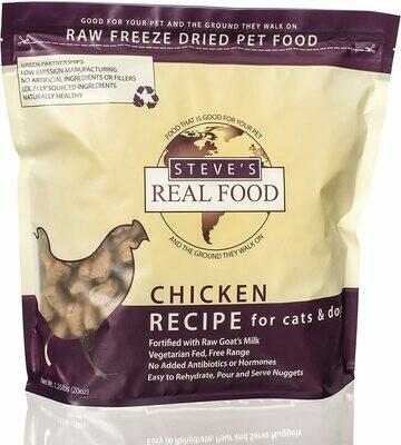 Steve's Freeze Dried Chicken 1.25lb