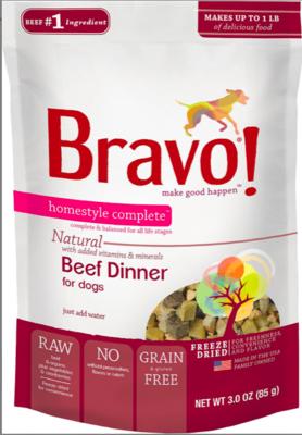 Bravo Freeze Dried Beef - 3oz