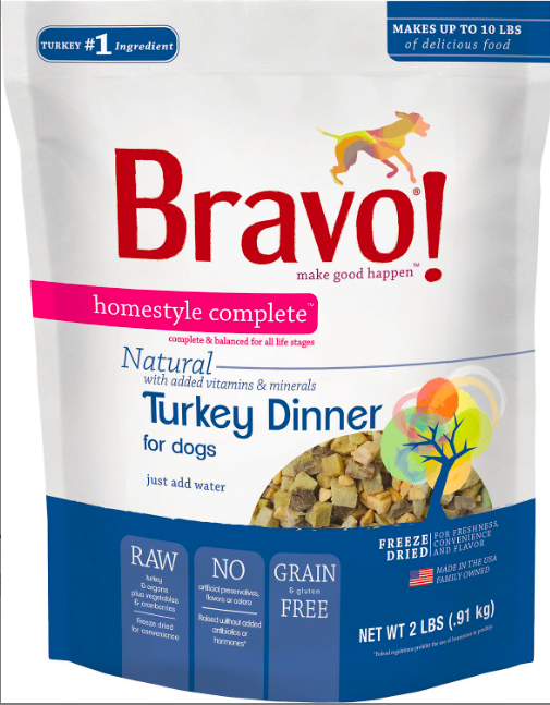 Bravo Freeze Dried Turkey - 2lbs
