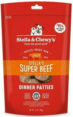Stella & Chewy's Freeze Dried Beef Dinner 5.5oz