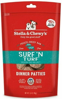 Stella & Chewy's Freeze Dried Surf and Turf Dinner 5.5oz