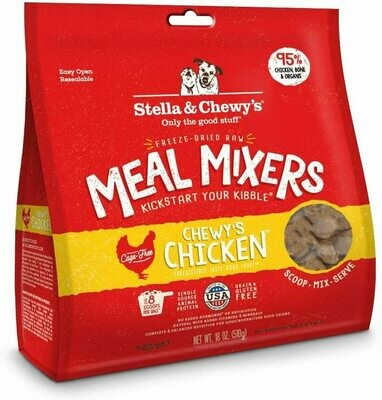 Stella & Chewy's Freeze Dried Chicken Mixer 18oz