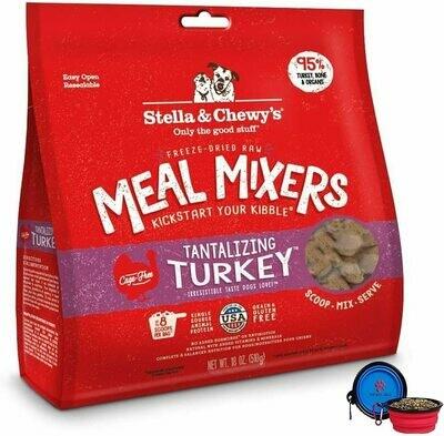 Stella & Chewy's Freeze Dried Turkey Mixer 18oz