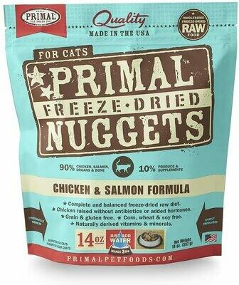 Cat - Primal Chicken & Salmon Freeze Dried Formula 14oz