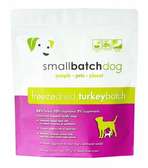 Small Batch Freeze Dried Turkey 14oz