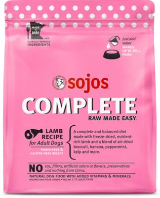 Sojos Complete Lamb Mix 1.75lb