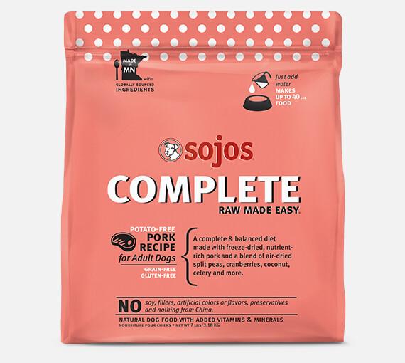 Sojos Complete Pork Mix 7lb