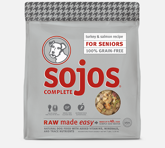 Sojos Complete Senior Turkey & Salmon Mix 7lb