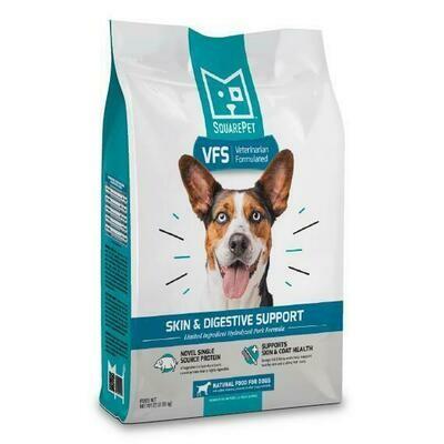 Square Pet VFS Vet Formulated Skin and Digestive Support 22lb (Reg $72.99)