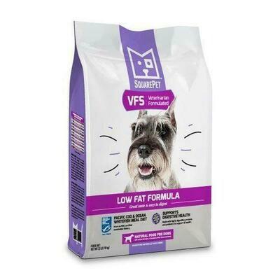 Square Pet VFS Vet Formulated Gastrointestinal Low Fat Support 22lb (Reg $76.99)