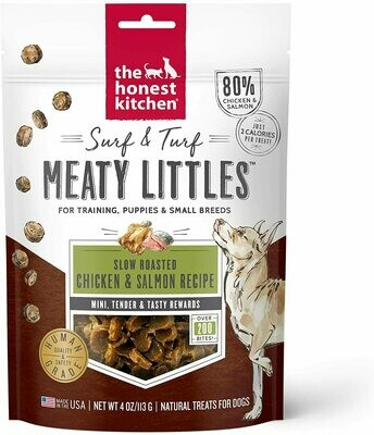 Honest Kitchen Meaty Little Bites - Chicken & Salmon 4oz