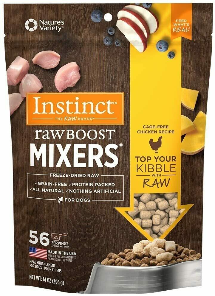 Instinct Chicken Treat Mixer 6oz