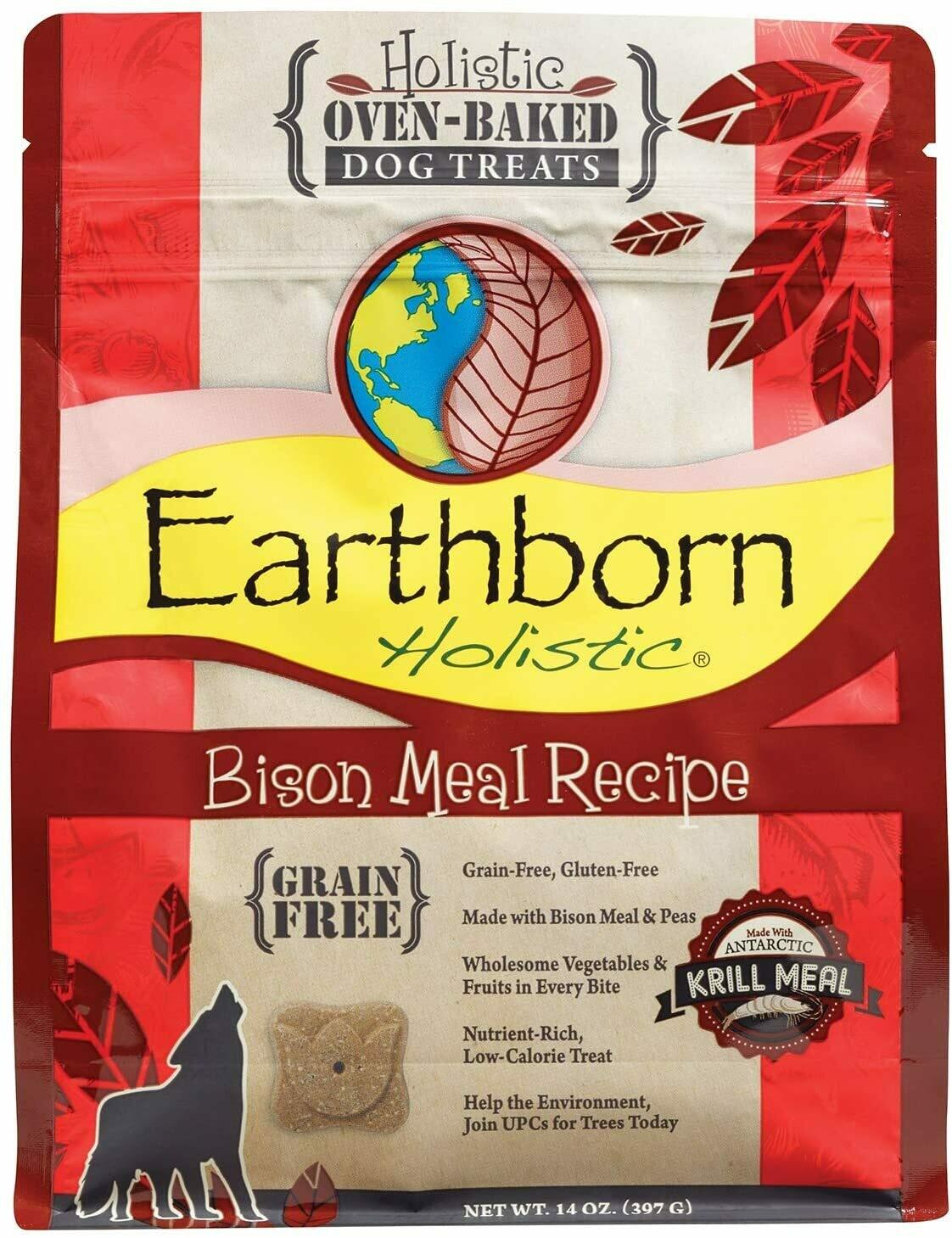 Earthborn Holistic Biscuit 14oz - Bison