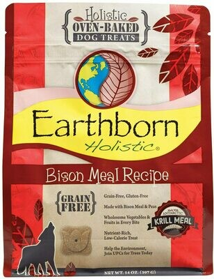 Earthborn Holistic Biscuit 14oz - Bison