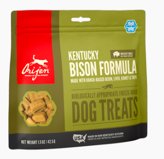 Orijen Freeze Dried Bison Treats 1.5oz